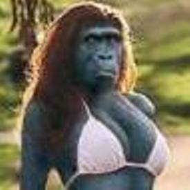 Bigfoot Bikini Girl
