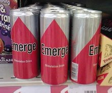 Emerge drinks