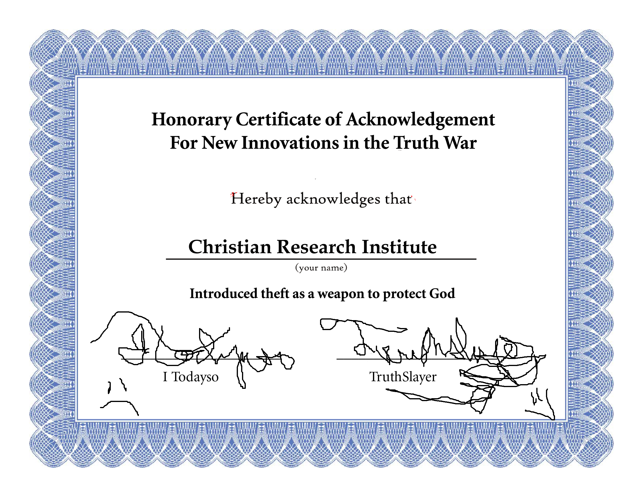 Honorary Certificate Template Graduation