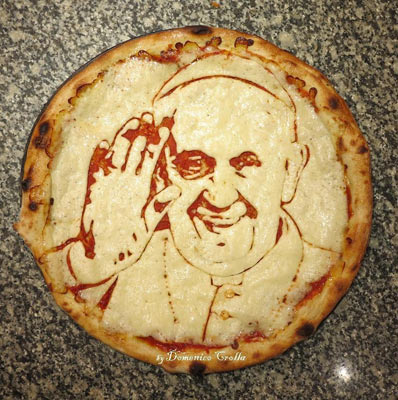 donemico-crolla-pope-pizza-art