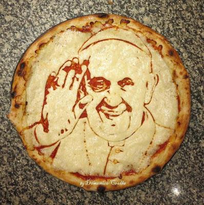 donemico-crolla-pope-pizza-art