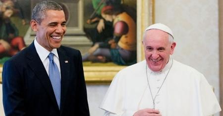 Obama-Pope